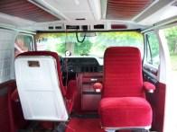 1979 Dodge Ran Star Wars Van Interior Bucket Seats