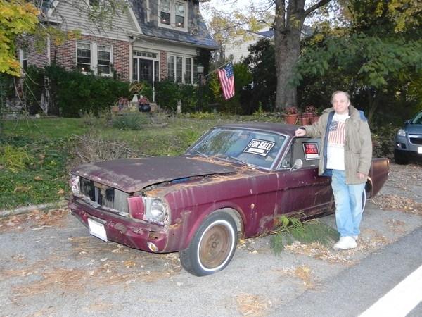 1964 Mustang Baltimore Ed Crowl