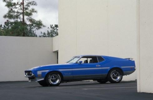 1971 Ford Mustang Boss 351 Grabber Blue