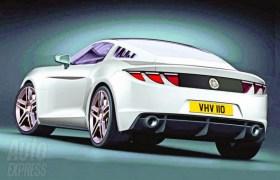 2014 Mustang Concept Sketch Rear