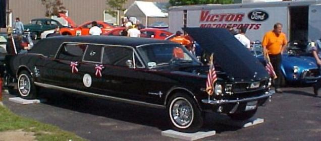 1966 Ford Mustang Limousine Volo Shelby Show