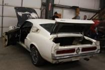 Barn Find 1967 Shelby Mustang GT500 Fastback Rear