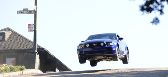 Fox Series Alcatraz Recreates Bullitt Chase Scene With 2013 Mustang GT