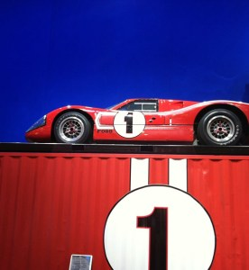 1967 LeMans Winning GT40 in Ford Booth at SEMA Show