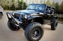 Mopar Jeep Wrangler Apache Concept Front Winch Bumper