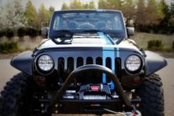 Mopar Jeep Wrangler Apache Concept Front Grille