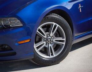 2013 Ford Mustang V6 3.7L Convertible Blue Wheels Motor City