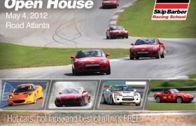 Skip Barber Road Atlanta Open House 2012 Miata MX5 Cup Car Skid Pad Hot Laps