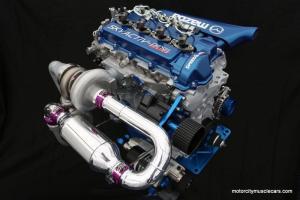 Mazda Racing LMP2 Prototype 2 Skyactiv-D Clean Diesel Engine 2013 Le Mans Race