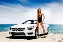 Vitamin A by Amahlia Stevens SL63 AMG Mercedes-Benz Fashion Week SWIM Supermodel