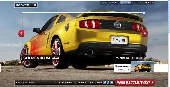 Ford Mustang Customizer App Available For Ipad, Iphone, and Android
