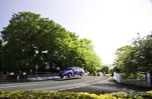 2015 SUBARU WRX STI Sets Isle of Man Lap Record at 117.5 MPH