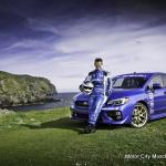 2015 SUBARU WRX STI Sets Isle of Man