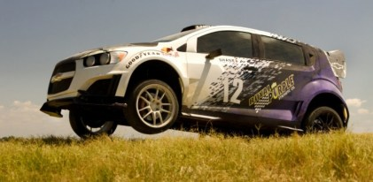 Transformers 2014 Chevy Sonic Rally Car