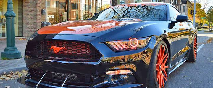 MRT's TKO 2015 Ford Mustang EcoBoost 2.3L Rolls Out At SEMA 2014