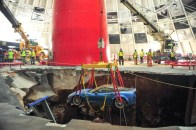 2009 Corvette ZR1 Museum Pulled From Sinkhole