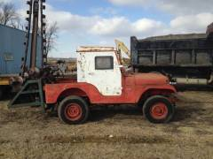 1960 Jeep CJ5 Trencher PTO Farm Equipment