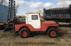 1960 Jeep CJ5 Trencher PTO Farm Equipment