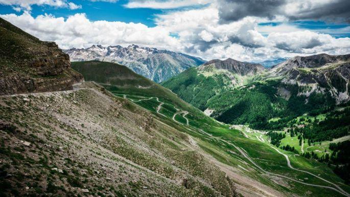 La Route des Grandes Alpes - Col de la Bonette