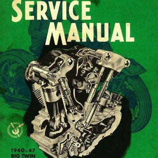 1940-1947 O.H.V. & SV Service Manual