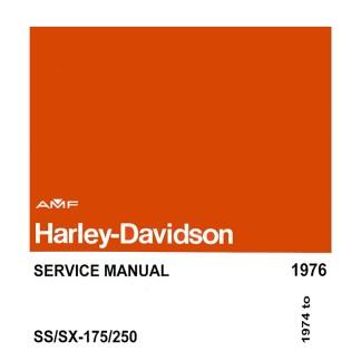 1974-1976 SS & SX 175/50 Models Service Manual