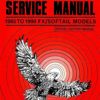 1985-1990 Softail Models Service Manual