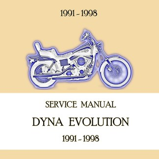 1991-1998 Dyna Models Service Manual