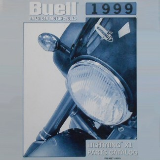 1999 Buell Lightning X1 Models Parts Catalog