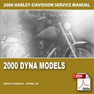 2000 Dyna Models Service Manual