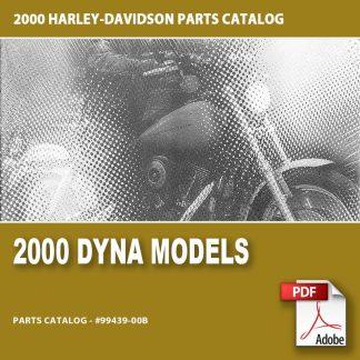 2000 Dyna Models Parts Catalog