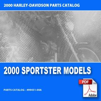 2000 Sportster Models Parts Catalog
