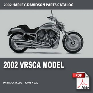 2002 VRSCA Models Parts Catalog