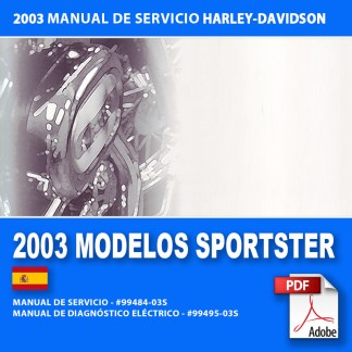 2003 Manual de Servicio Modelos Sportster