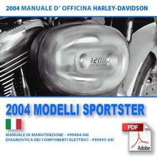 2004 Manuale di manutenzione modelli Sportster