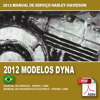 2012 Manual de Serviço dos Modelos Dyna