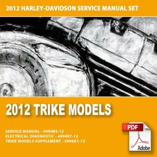 2012 Trike Models Service Manual