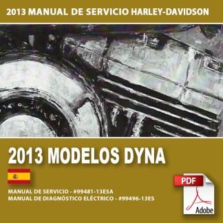 2013 Manual de Servicio Modelos Dyna