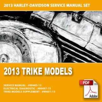 2013 Trike Models Service Manual