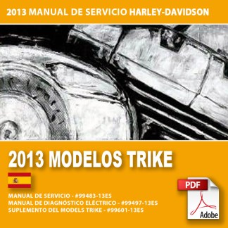2013 Manual de Servicio Modelos Trike