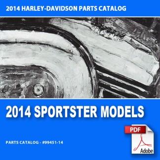 2014 Sportster Models Parts Catalog