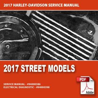 2017 Street Models Service Manual