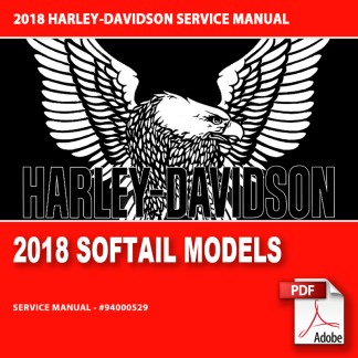 2018 Softail Models Service Manual #94000529