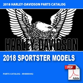 2018 Sportster Models Parts Catalog