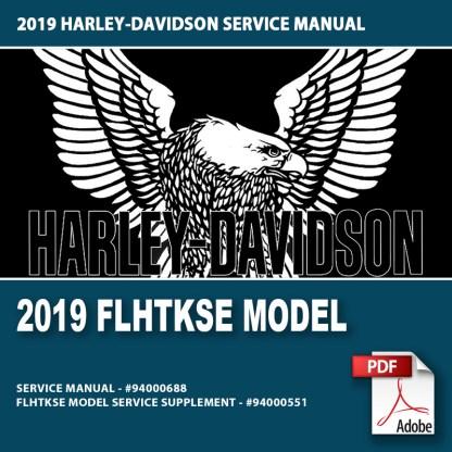 2019 FLHTKSE Model Service Manual