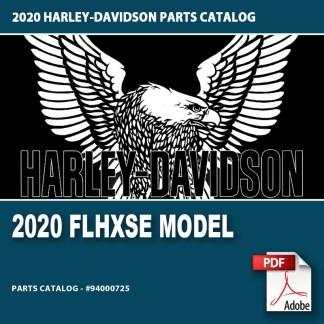 2020 FLHXSE Model Parts Catalog #94000725