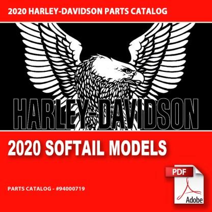 2020 Softail Models Parts Catalog #94000719
