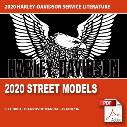 2020 Street Models Electrical Diagnostic Manual #94000736