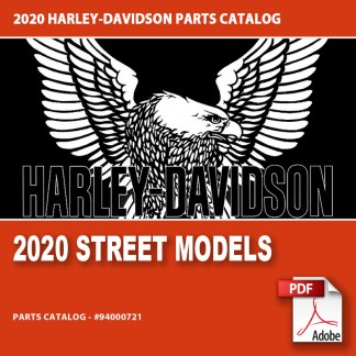 2020 Street Models Parts Catalog #94000721