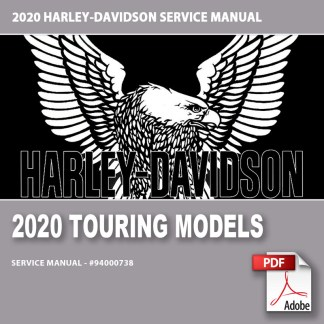 2020 Touring Models Service Manual #94000738