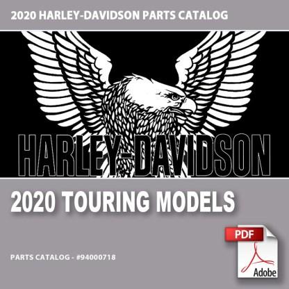 2020 Touring Models Parts Catalog #94000718